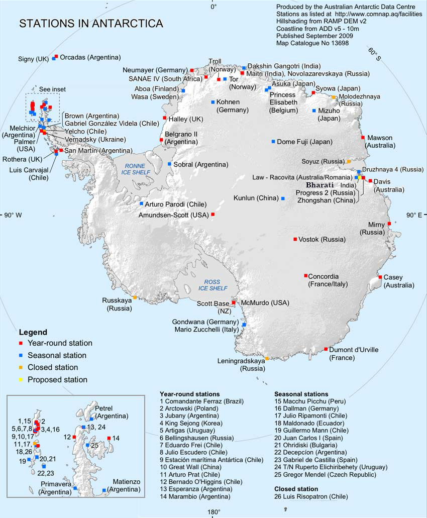 About Antarctica About Antarctica - Antarctica cities map